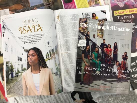 Pianist Magazine, Telegraph Magazine