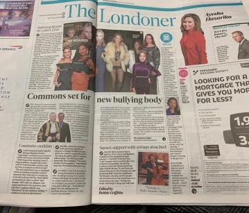 Evening Standard 'The Londoner'