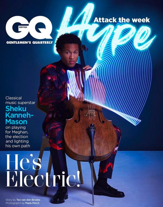 Sheku Kanneh-Mason for GQ