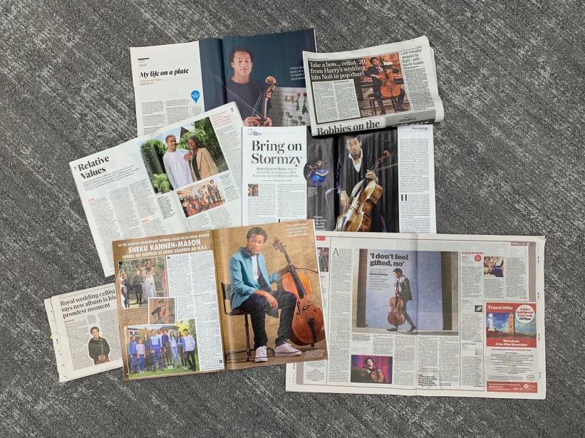 Sheku 'Elgar' Press Jan 2020