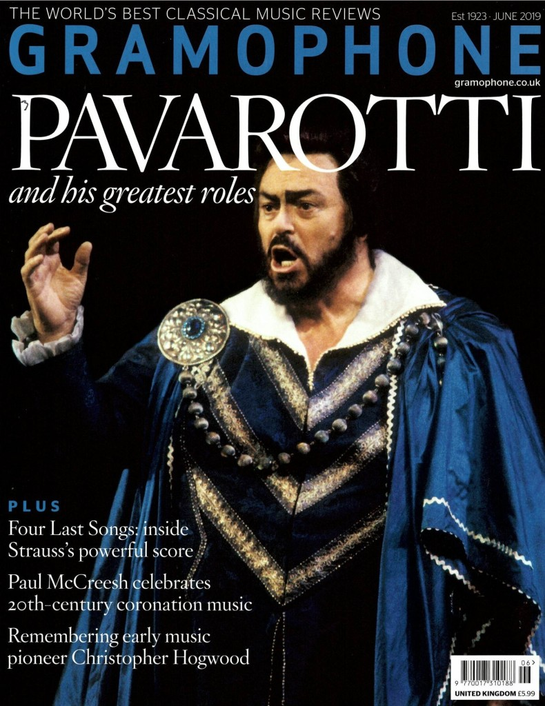 Pavarotti for Gramophone Magazine